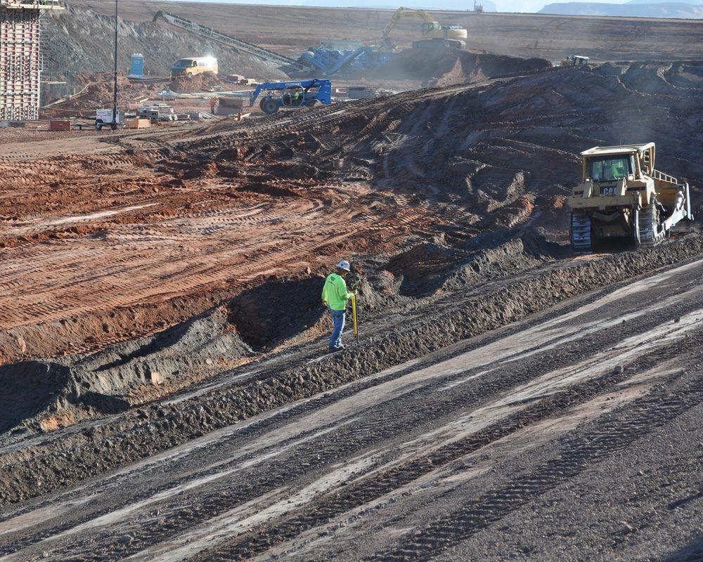 Blount Crew Member Working at Navajo Generating Station