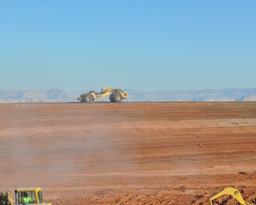 Equipment in Action at Navajo Generating Station Project