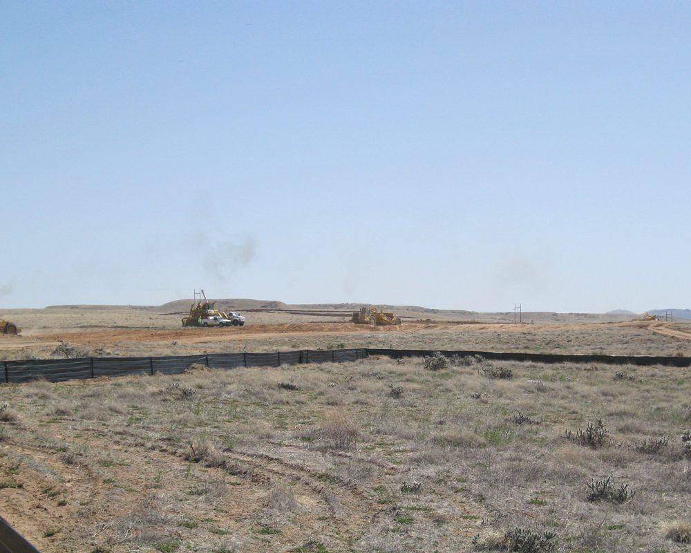 Trucks and Excavators at Mass Excavation sITE